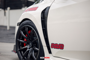 Seibon Carbon Fiber Fender Duct - Honda Civic Type R 2017+