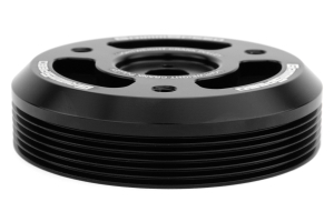 GrimmSpeed Lightweight Crank Pulley Black (Part Number: )