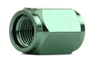 KICS Leggdura Racing Green Valve Cap (Part Number: )