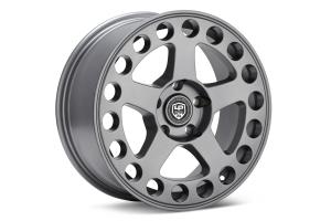 LP Aventure LP5 Wheel 15x7 +15 5x100 Matte Grey - Universal