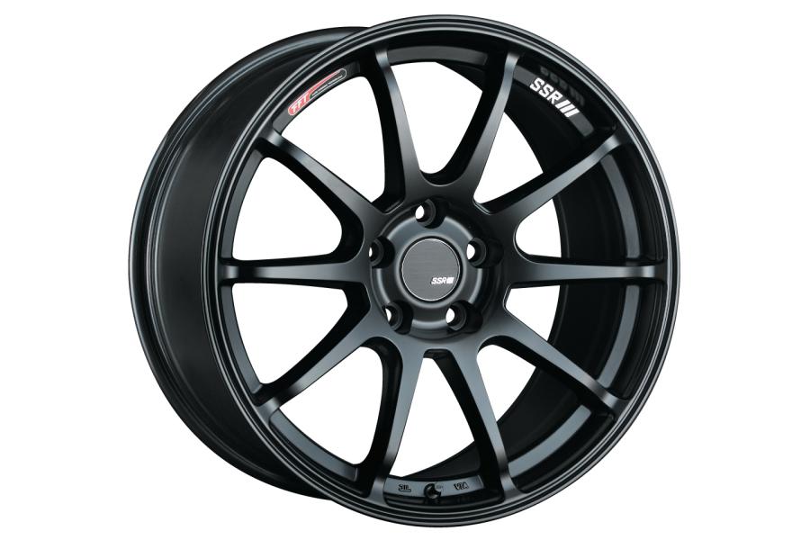 SSR GTV02 5x114.3 Flat Black - Universal