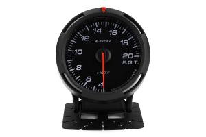 Defi White Racer EGT Exhaust Gas Temperature Gauge Imperial 52mm 400-2000F ( Part Number: DF06803)