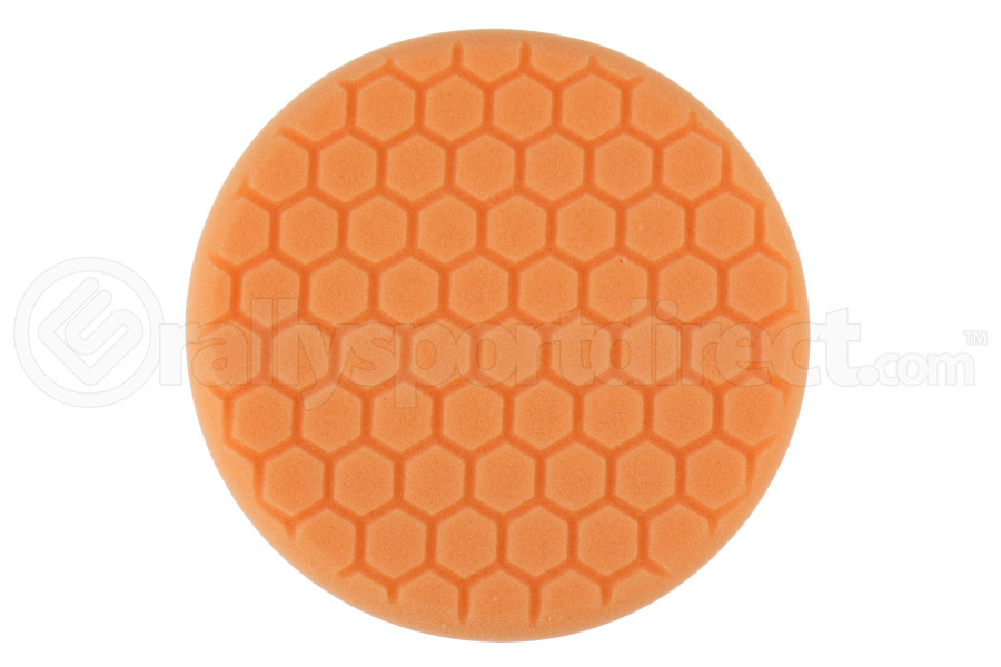 Chemical Guys Hex-Logic Self-Centered Medium-Heavy Cutting Pad Orange 7.5 Inch - Universal