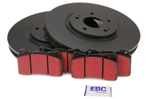 EBC Brakes S1 Front Brake Kit Ultimax2 Pads and RK Rotors - Mitsubishi Evo 8/9 2003-2006