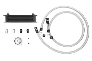 Mishimoto Universal Oil Cooler Kit Black ( Part Number: MMOC-UBK)