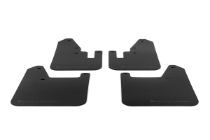 Rally Armor UR Mudflaps Black Urethane Grey Logo ( Part Number:RAL MF13-UR-BLK/GRY)