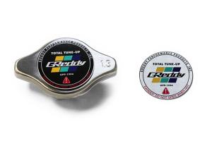 GReddy Type-S Brushed Radiator Cap - Subaru / Mitsubishi / Nissan