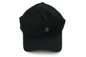 Sparco Hat Lid Black/Charcoal Small/Medium FlexFit Tuning ( Part Number:SPR2 SP13NC)