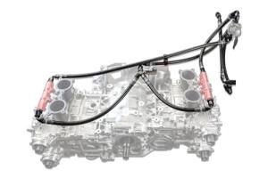 IAG Performance PTFE Fuel Line Kit for use w/ COBB Flex Fuel Sensor - Subaru WRX 2008 - 2014 / STI 2008 - 2020