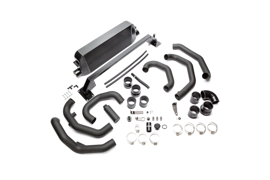 COBB Tuning Front Mount Intercooler Kit Black - Subaru STI 2015-2017