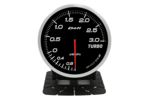 Defi Advance BF Series Boost Gauge White 3 Bar (Part Number: )
