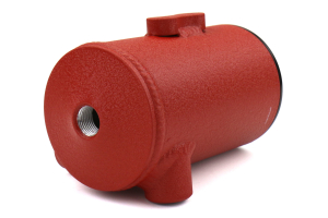 PERRIN Air Oil Separator Red Aftermarket FMIC (Part Number: )