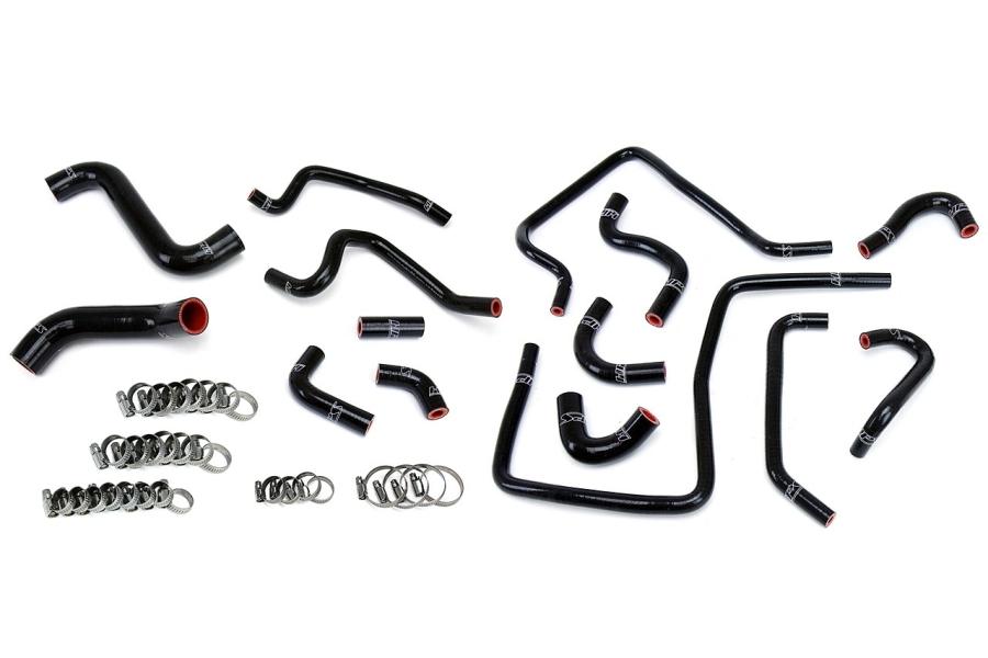 HPS Performance Reinforced Silicone Radiator & Ancillary Hose Kit - Subaru WRX 2002-2003