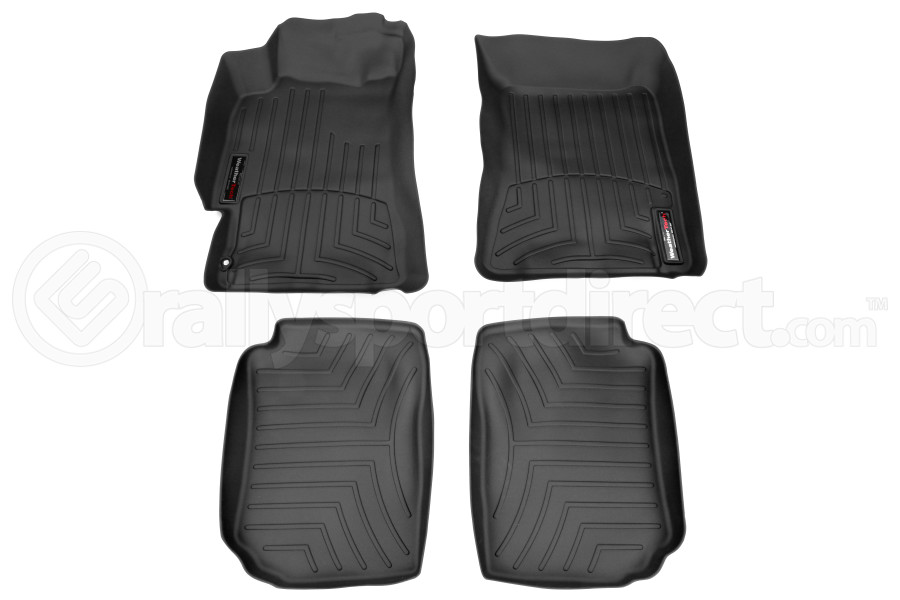 Weathertech Floorliners Black Front and Rear (Part Number:44097-1-2)