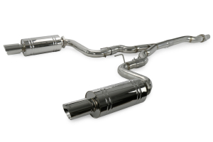 X-Force Twin 3in Stainless Steel Turbo Back System ( Part Number: ES-FM16-TBS)
