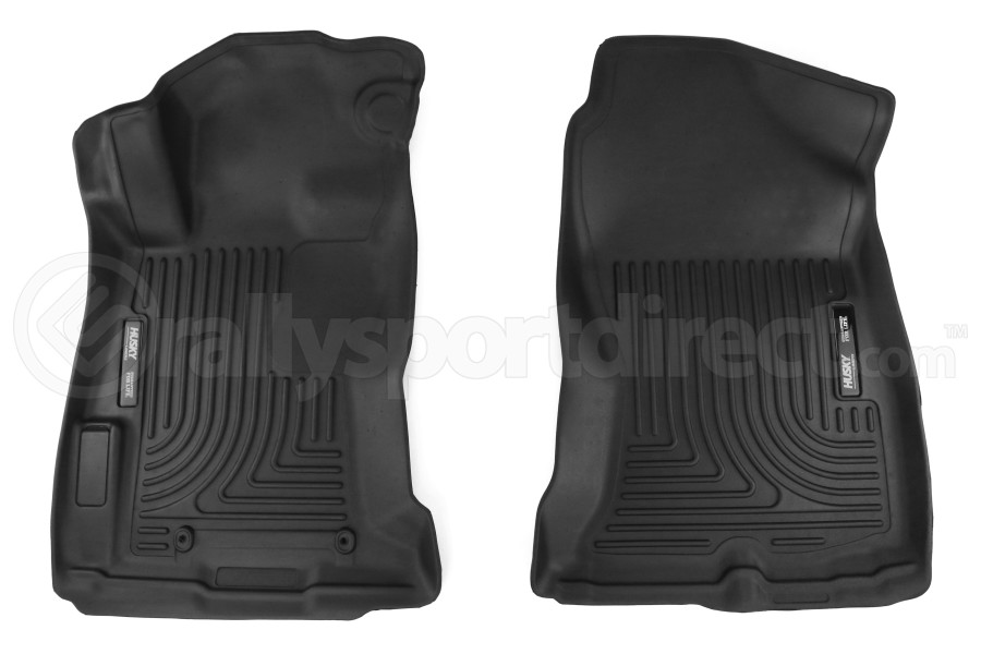 Husky Liners Floor Liners Black Front and Back - Subaru Impreza 2017+