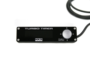 HKS Type-1 Black Turbo Timer Blue Back Light (Part Number: )