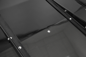 OLM Half Carbon VA Style Rear Diffuser - Subaru WRX / STI 2015+