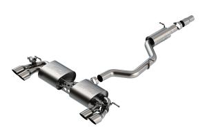 Borla S-Type Cat-Back Exhaust System w/ Resonator  - Volkswagen Golf R MK7.5 2018+