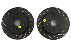 EBC Brakes GD1572 3GD Series Dimpled and Slotted Sport Rotor