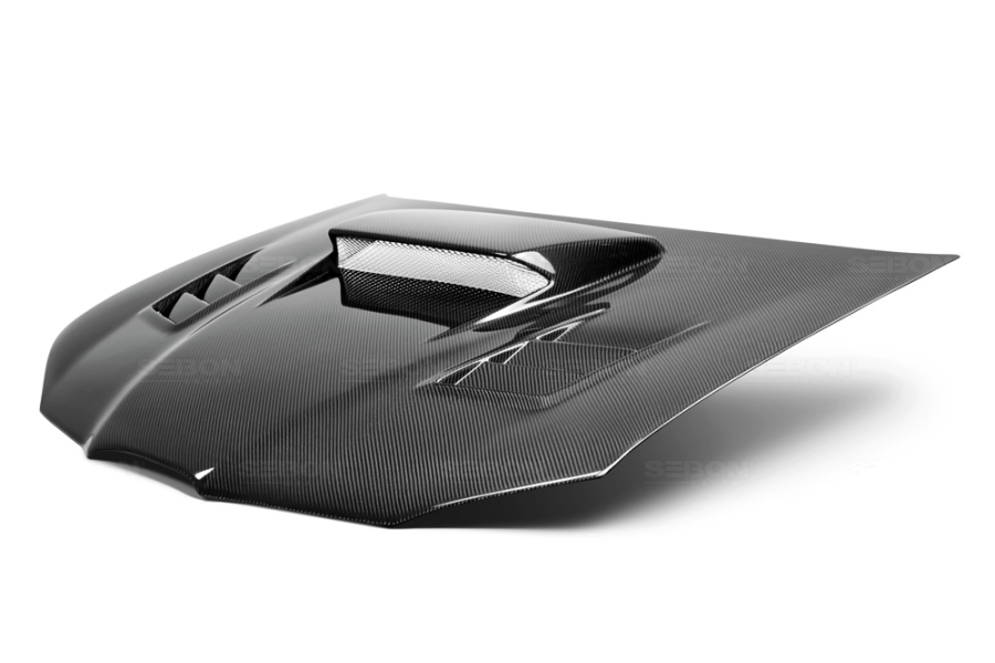 Seibon Carbon Fiber Cwii Style Hood Subaru Wrx Sti 2006
