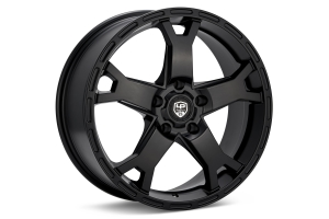 LP Aventure LP2 Wheel 17X8 +38 5x114.3 Black - Universal