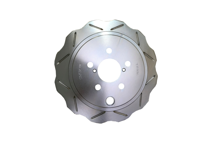 WaveSpec Silver Line Rear Rotor (Part Number:SUB031SL)