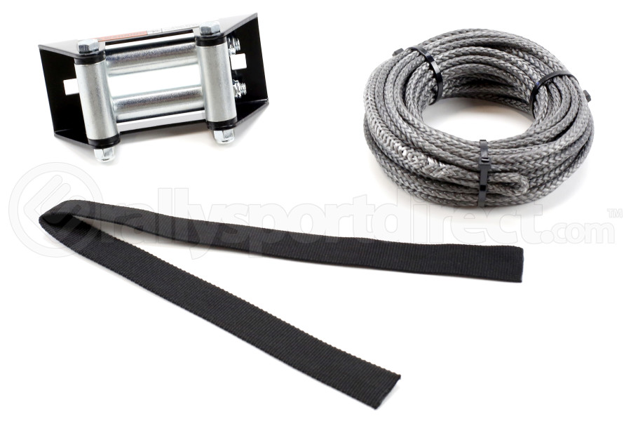 Warn Industries Synthetic Rope 3/16 in x 50 ft Kit - Universal