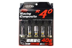 KICS R40 16+4 Piece Regular Color 12x1.50 Lug Nuts ( Part Number:KIC 31876K)