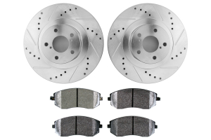 Hawk Performance Rotors w/ PC Pads Kit Front (Part Number: )