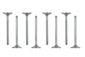 Manley Performance Race Flo Stainless Steel Exhaust Valves +.5mm Oversized (Part Number: )