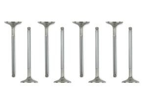 Manley Performance Stainless Steel Race Flo Valves +.5mm Oversized ( Part Number: 11160-8)