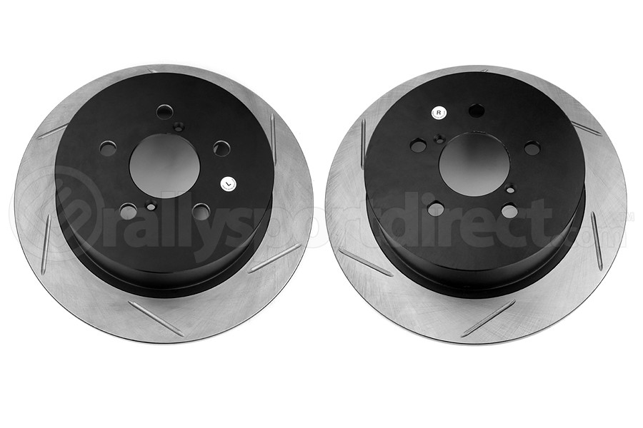 Stoptech Slotted Rear Rotor Pair - Subaru Models (inc. 2005-2009 Outback)