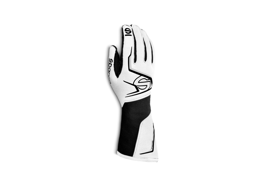 Sparco Tide Racing Gloves White / Black - Universal