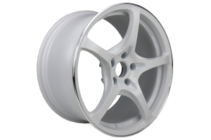 Volk G50 18x9.5 +38 5x114.3 Dash White - Universal