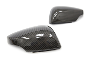 Carbon Reproductions Replacement Mirror Covers w/ Turn Signal Cutout - Subaru WRX / STI 2015 - 2020