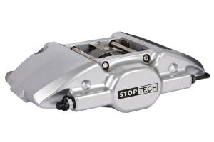 Stoptech ST-22 Big Brake Kit Rear 328mm Silver Slotted Rotors - Subaru WRX 2002-2007