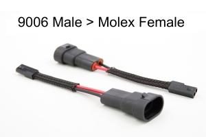 Morimoto 9006 Male to Molex Female Adapter - Universal