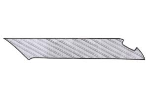OLM Carbon Look Kick Guard Protection Set w/ Silver Stitching - Scion FR-S 2013-2016 / Subaru BRZ 2013+ / Toyota 86 2017+