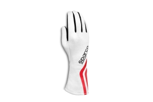 Sparco Land Classic Racing Gloves White - Universal
