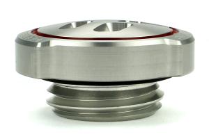 GrimmSpeed Oil Cap Matte Silver (Part Number: )