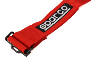 Sparco 2in/3in 4-point Harness Red Snap-On (Part Number: 04716MRS)