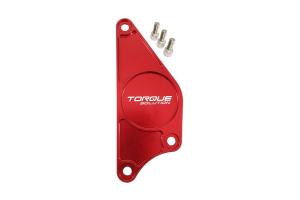Torque Solution cam Plate Red - Scion FR-S 2013-2016 / Subaru BRZ 2013+ / Toyota 86 2017+