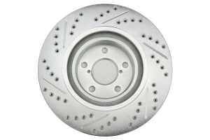 Stoptech C-Tek Sport Drilled and Slotted Rotor Single Front Left (Part Number: 227.47021L)