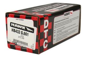Hawk Performance DTC-60 Front Brake Pads - Scion FR-S 2013-2016 / Subaru BRZ 2013+ / Toyota 86 2017+