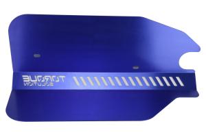 Torque Solution Engine Pulley Cover Blue - Subaru WRX 2015 - 2020