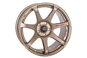 Cosmis Racing Wheels MR7 18x10 +25 5x114.3 Bronze - Universal