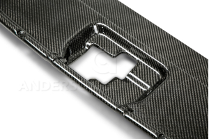 Anderson Composites Carbon Fiber Radiator Cover - Ford Mustang 2015-2017