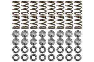 GSC Power-Division Single Valve Spring Set w/ Titanium Retainers (Part Number: )