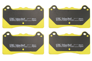 EBC Brakes Yellowstuff Street and Track Front Brake Pads - Ford Focus RS 2016+